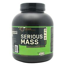 Optimum Nutrition Serious Mass Whey Protein Weight Gainer, Chocolate, 6 Pound