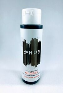dp HUE Color Boosting Gloss + Deep Conditioning Treatment Cool Dark Brown 6.5 oz