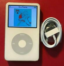 iPod Video Classic 5th White 30Gb New Battery + Wolfson Dac Free Warranty!