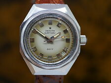Zenith Defy Diver Automatic Vintage Watch 1971 - Fume Dial