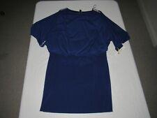 R&M RICHARDS WOMEN'S ROYAL BLUE OPEN SHOULDER DRESS SIZE 12 NWT