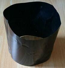 Schrumpfschlauch schwarz 248mm Flachmaß Preis per Meter