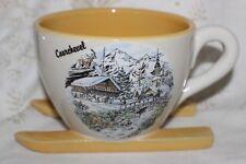 Cup Mug Tasse à café skiing Courchevel