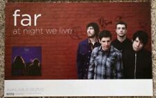 Far At Night We Live 11x17 signed Autographed poster crosses deftones will haven