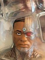"DC Comics Multiverse Justice League Cyborg 6"" Figure with Weapon Accessory - NIP"