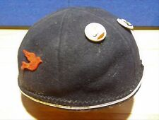 Vintage 40's-50's Child's Beanie cap / hat Benay Novelty Co. w/ vint. buttons