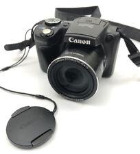 Canon Powershot SX500 IS Black Digital Camera Set 16 MegaPixels Zoom Lens 30x IS