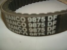 "1 1/8"" x 41 1/2"" Manco 9875 Symmetrical Torque Converter Belt: Comet 300637-C"