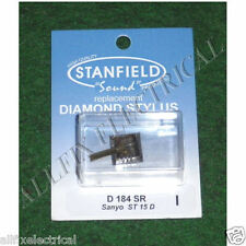 Sanyo ST15D Compatible Turntable Stylus - Part # D184SR