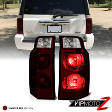"2006-2010 Jeep Commander ""DARK RED"" Rear Brake Tail Lights Signal Reverse Lamps"