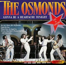 THE OSMONDS : GONNA BE A HEARTACHE TONIGHT / CD - TOP-ZUSTAND