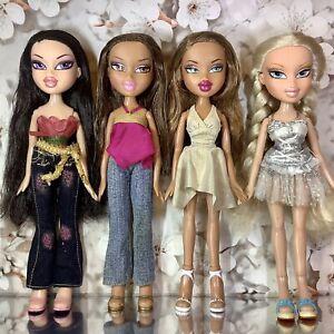 Bratz Doll Bundle Flower Girlz Nora P4F Twin Pack Yasmin Fianna Celebritiez Cloe