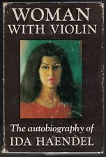 Ida HAENDEL / Woman with Violin An Autobiography First Edition 1970