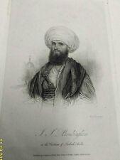 lord BUCKINGHAM in costume of Turkish Arabia