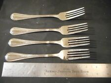 4 Towle Stratford pattern dinner forks stainless steel