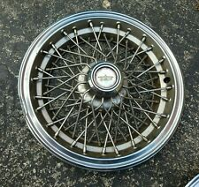 "(1) OEM 1981-85 Chevy Caprice 15"" Wire Spoked Hubcap Wheel Cover #4 GM 14039162"
