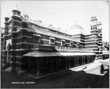 Photo. 1889. Paris World Exhibition -  Palace of India