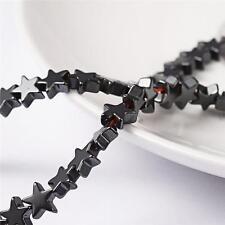 Premium Quality Star Hematite Beads 6mm 65 per Bag