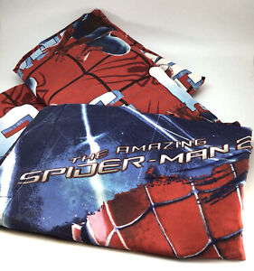 Spider Man 2 Marvel Twin Sheet Set Amazing Spiderman Fitted Flat Pillowcase 2014