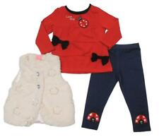 """New listing """"Ladybird"""" Three Piece Set with Jeans style trousers, top and gilet."""
