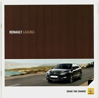 Renault Laguna Hatchback & Sport Tourer 2010-12 UK Market Sales Brochure