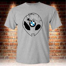 BMW S1000RR Motorcycle Biker Grey T-shirt Mens Tshirt S to 3XL