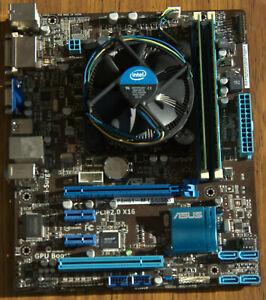 Asus P8H61-M LE/USB3 + Core i7-2600@3.40GHz + 8 Go DDR3