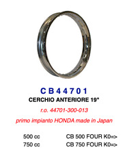 "CB44701 Ricambio Cerchio Ruota Anteriore 19"" per Honda CB 500 FOUR K0 >"