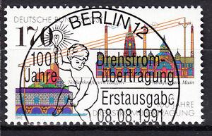 BRD 1991 Mi. Nr. 1557 gestempelt BERLIN Sonderstempel , mit Gummi (17596)