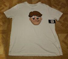 Nike Athletic Cut Dri-Fit T-Shirt Men's XXL White Brand New