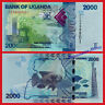UGANDA 2000 Shillings 2019 Pick New SC / UNC