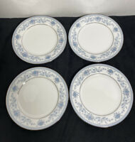 Noritake Blue Hill set of 4 bread and butter plates