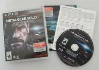 Metal Gear Solid V: Ground Zeroes (Sony PlayStation 3, PS3) Complete Tested