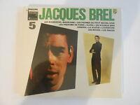 JACQUES BREL : 5éme album + Olympia [ CD ALBUM NEUF ] - PORT GRATUIT