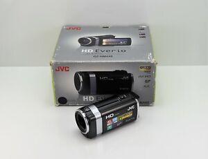 JVC EVERIO GZ-HM445 CAMCORDER BOXED SDXC CARD HD DIGITAL HIGH DEFINITION VIDEO