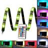 "90cm/35.4"" RGB TV Hintergrundbeleuchtung USB LED Streifen Bunt,LED Lichtleiste"