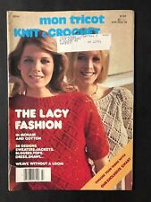 Mon Tricot KNit & Crochet Magazine MD54