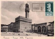 More details for italy firenze florece rp postcard fuhrer postmark 1938 front and back