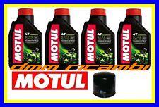 Kit Tagliando HONDA HORNET 600 98>99 Filtro Olio MOTUL 5100 10W40 CB F 1998 1999