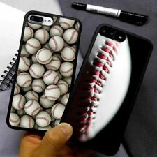 Baseball Sports Game Silicone Phone Case Cover For iPhone Samsung Galaxy