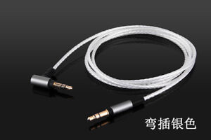 Silver Plated Audio Cable For SONY MDR-XB950N1 MDR-1000X MDR-100AAP 100ABN