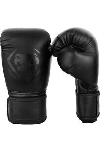Venum Contender Boxing MMA Gloves Black 16oz