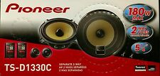 "Pioneer TS-D1330C 180 Watts 2-Way 5.25"" Component Car Speakers"