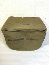 Us Army Signal Corps Movie Projector Aq-2A Vietnam Era Cover Padded Loudspeaker