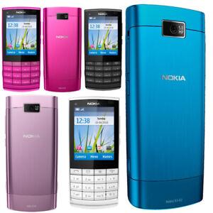 Original Unlocked Nokia X3-02 Touch Screen WIFI MP3 5.0MP 3G GSM Slider Phone