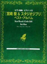 Hayao Miyazaki & Studio Ghibli Best Album Piano Solo Sheet Music 100songs I788