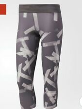 B 206# Adidas Women's Response 3/4 Tight Prin size S RRP£42.95