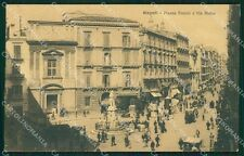 Napoli Città Auto cartolina XB1919
