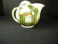 "Southern Potteries Blue Ridge: Sweet Skyline Teapot ""Friendship Plaid"" (13752)"