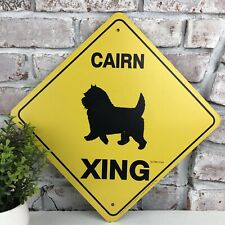 Cairn Terrier Metal Sign